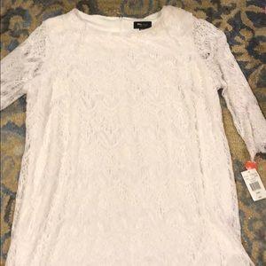 New ronni Nichole white dress 24w ronninichole